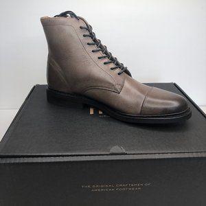 Frye Men's Seth Cap Toe Lace Up Leather Boots
